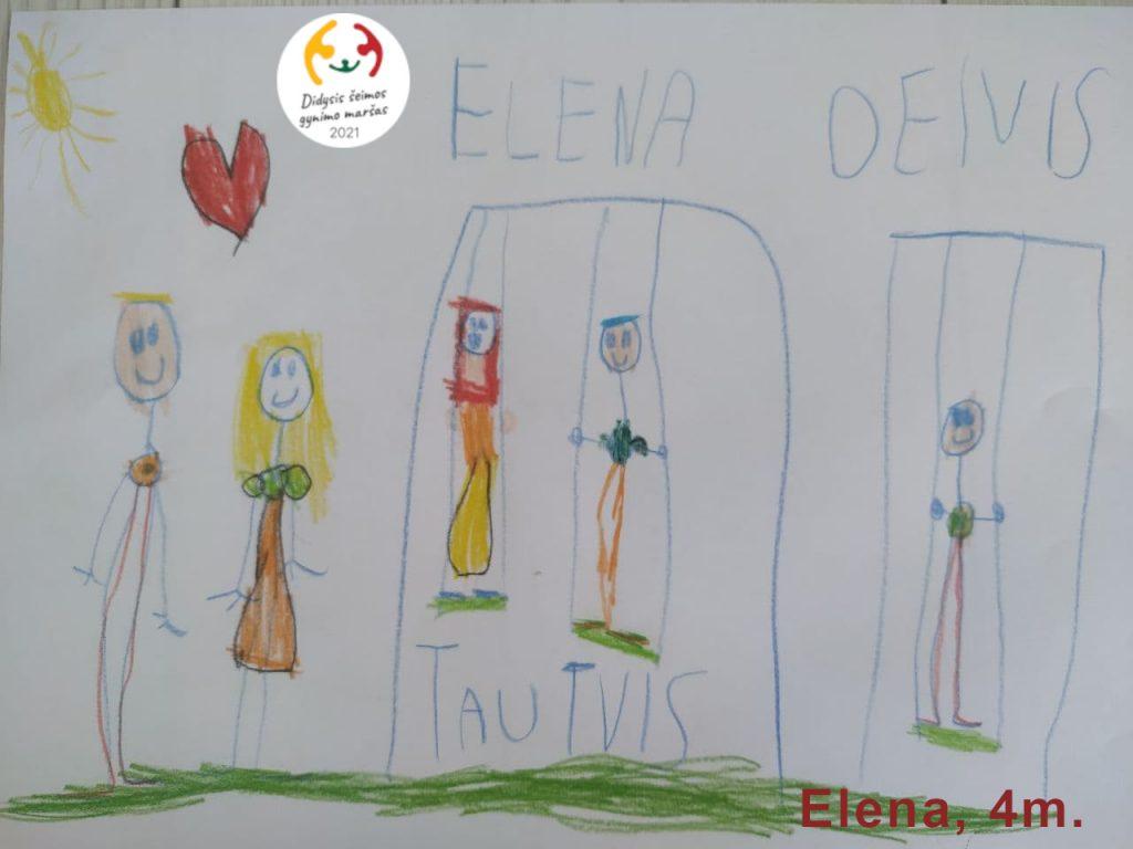 Elena, 4m.