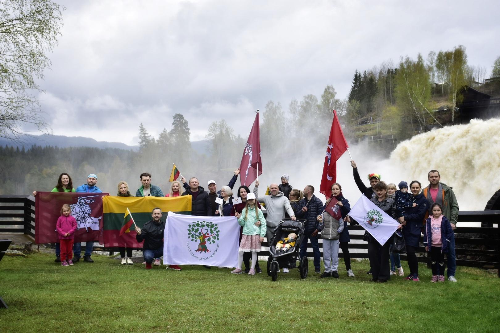 Didysis Šeimos Gynimo Maršas 2021 - Norvegijoje